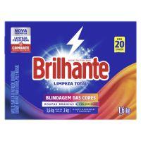 Lava Roupas Sanitizante em Pó Brilhante Limpeza Total 1,6Kg - Cod. 7891150066687