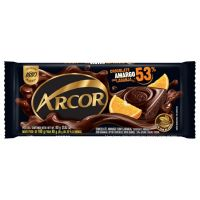 Display de Tablete de Chocolate Arcor Amargo 53% com Laranja 80g (12 un/cada) | Caixa com 1 - Cod. 7898142863828