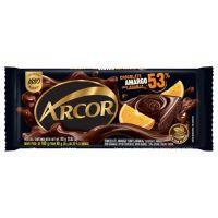 Display de Tablete de Chocolate Arcor Amargo 53% com Laranja 80g (12 un/cada) - Cod. 7898142863828