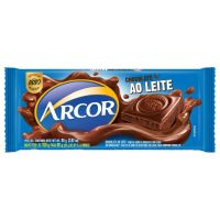 Display de Tablete de Chocolate Arcor ao Leite 80g (12 un/cada) | Caixa com 1 - Cod. 7898142863804