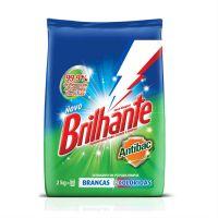 Detergente em Pó Brilhante Multi Tecidos Antibacteriano 2kg - Cod. 7891150039285