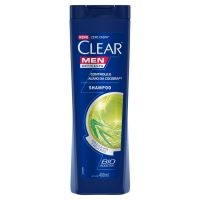 Shampoo Anticaspa Clear Men Controle e Alívio da Coceira 400ml - Cod. 7891150014121