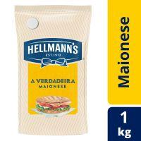 Maionese Hellmann's Tradicional Sachê 1kg - Cod. 7891150029002