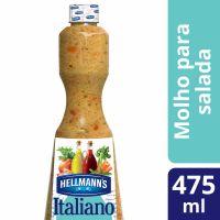 Molho Para Salada Hellmann's Italiano 475ml - Cod. 7891150005402