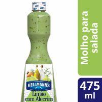 Molho Para Salada Hellmann's Limão com Alecrim 475ml - Cod. 7891150005396
