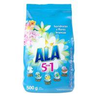 Detergente em Pó ALA Hortênsias e Flores Brancas 500g - Cod. 7891038611701