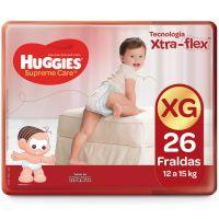 Fralda Huggies Supreme Care Mega XG 26un - Cod. 7896007548422