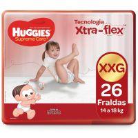 Fralda Huggies Supreme Care Mega XXG 26un - Cod. 7896007548439