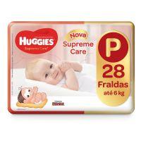 Fralda Huggies Supreme Care Jumbo P 28un - Cod. 7896007548507