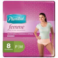 Roupa Íntima Plenitud Femme P/M 8un - Cod. 7896007550043
