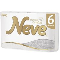 Papel Higiênico Neve Premium Confort 20m 6un | Caixa com 1 - Cod. 7896018704107