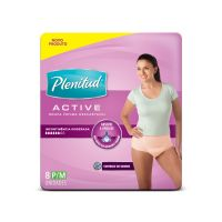 Roupa Int Feminino Plenitud Active Fit P/M 8un - Regular - Cod. 7751493004442