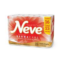 P. Higienico F.Dupla Neve Neutro Compacto None 30 16un - L16p15 - Cod. 7891172432026
