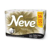 P. Higienico Tripla Neve Supreme Compacto 20 16un - L16P15 - Cod. 7891172432804
