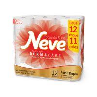 P. Higienico F.Dupla Neve Neutro Compacto None 30 12un - L12p11 - Cod. 7891172432019