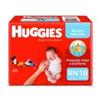 Fralda Huggies Supreme Care Jumbo RN 18un - Cod. 7896007549627