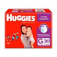 Fralda Huggies Supreme Roupinha Mega G 30un - Cod. 7896007549689