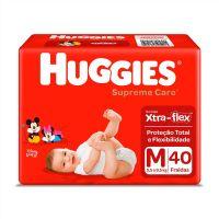 Fralda Huggies Supreme Care Mega M 40un - Cod. 7896007548408