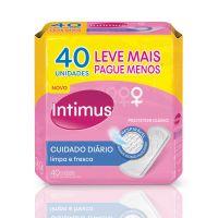 Protetor Diário Intimus s/ Perfume s/ Abas 40un - Cod. 7896007542482