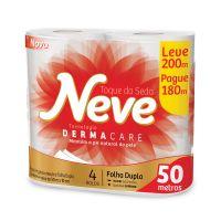 P. Higienico F.Dupla Neve Neutro None 50 4un - L200mp180m - Cod. 7891172422188C12