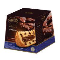 Panettone Arcor Recheado Chocolate 530g - Cod. 7896058257489