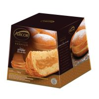 Panettone Arcor Recheado sabor Sonho de Doce de Leite 530g - Cod. 7896058257588