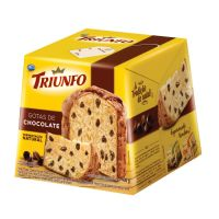 Panettone Triunfo com Gotas de Chocolate 400g - Cod. 7896058255461