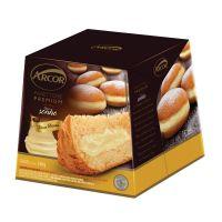 Panettone Arcor Recheado sabor Sonho de Creme 530g - Cod. 7896058257496