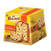 Panettone Triunfo com Frutas Cristalizadas e Uvas Passas 400g - Cod. 7896058255478