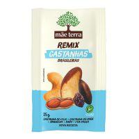 Remix Mãe Terra Mix Castanhas Brasileiras 25g | 9 unidades - Cod. C15380