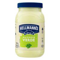 Maionese Verde Hellmann's 500g | 3 unidades - Cod. C28295