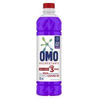Desinfetante Omo Uso Geral Lavanda 500ml   4 unidades - Cod. C28308