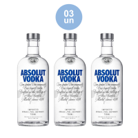 Combo COMPRE 3 Absolut Vodka Original Sueca 750ml - Cod. C34286