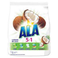 Sabão em Pó Ala 5 em 1 Cuidado do Coco 1kg | 9 unidades - Cod. C37577