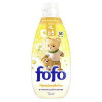 Amaciante de Roupa Concentrado FOFO  Cheirinho de Bebê 1L I 3un - Cod. C40797
