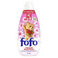 Amaciante de Roupa Concentrado FOFO  Cheirinho de Infância 1L I 3un - Cod. C40798