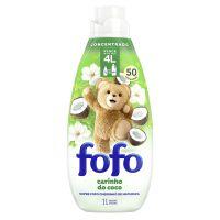 Amaciante de Roupa Concentrado FOFO  Cheirinho da Natureza 1L I 3un - Cod. C40799
