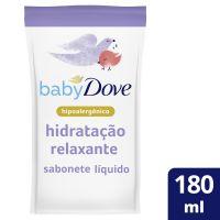 Sabonete Líquido Dove Baby Hora de Dormir  180mL   3 unidades - Cod. C41961