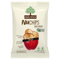 Chips Orgânico Mãe Terra Maçã NuChips 32g   1 unidade - Cod. C45122