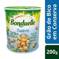 Grão de Bico em Conserva Bonduelle Suave 200g | 3 unidades - Cod. C45580
