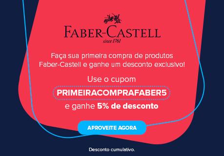 CA Cupom Primeira compra Faber