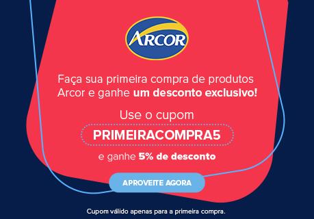 CA - Cupom Primeira Compra Arcor - Julho 2021