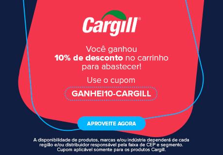 CA BANNER CUPOM GANHEI10-CARGILL