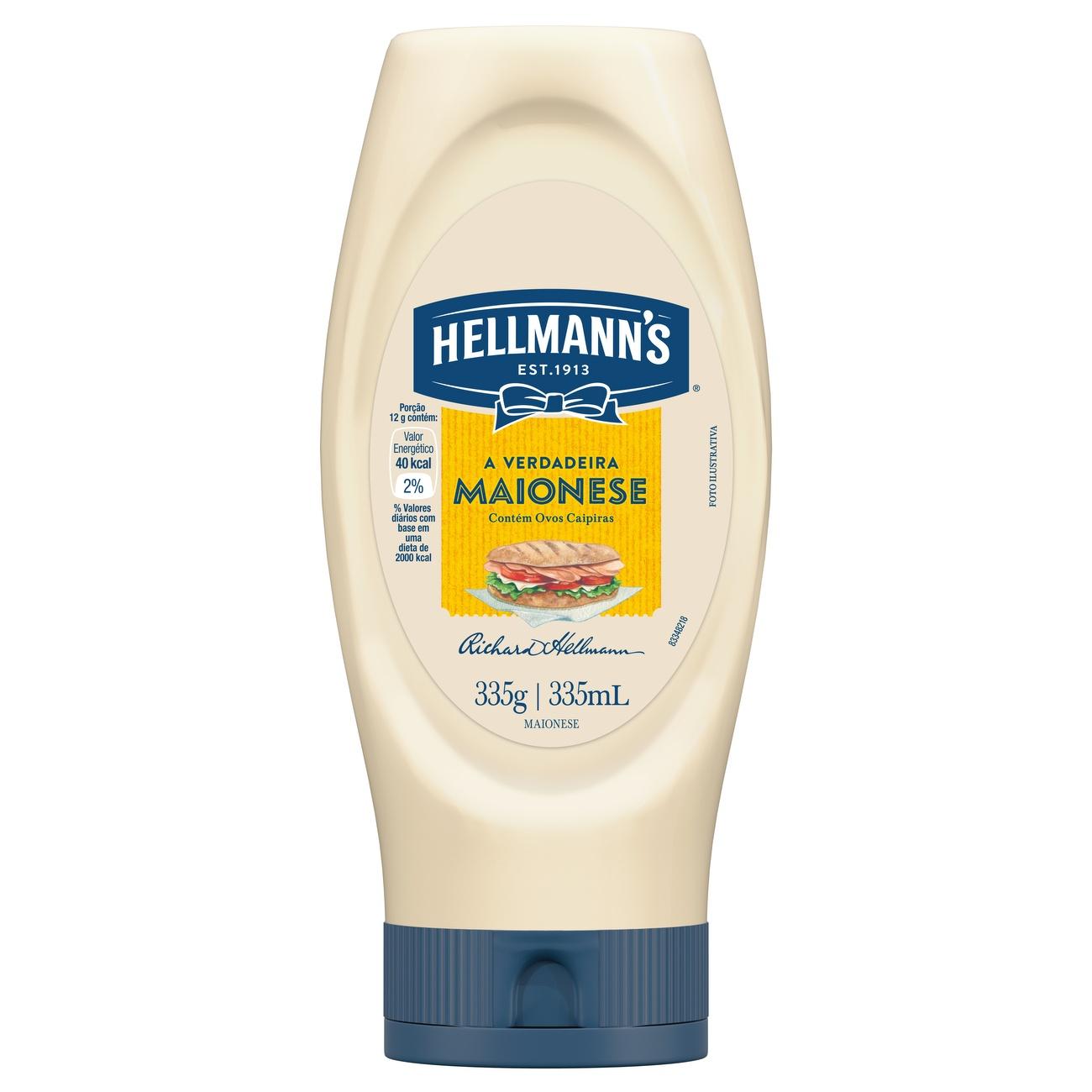 Maionese Hellmann's 335g