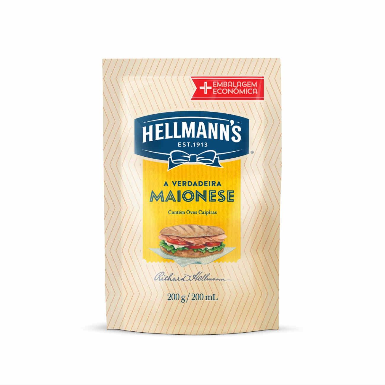 Hellmann's Maionese Tradicional 200g