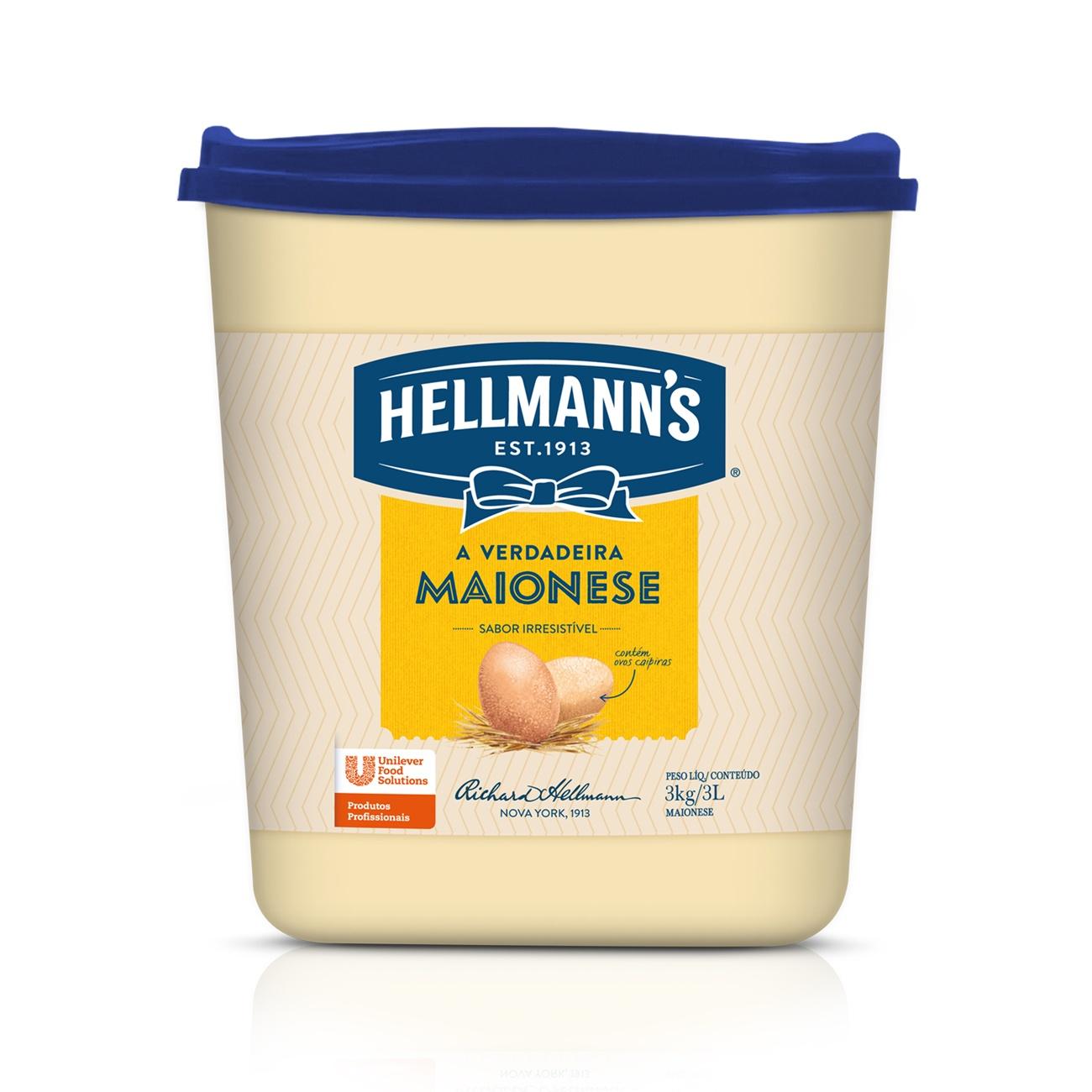 Maionese Hellmann's Balde 3kg