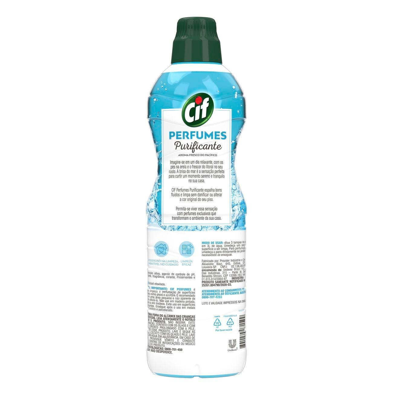 Limpa Pisos Cif Perfumes Puricante 900mL
