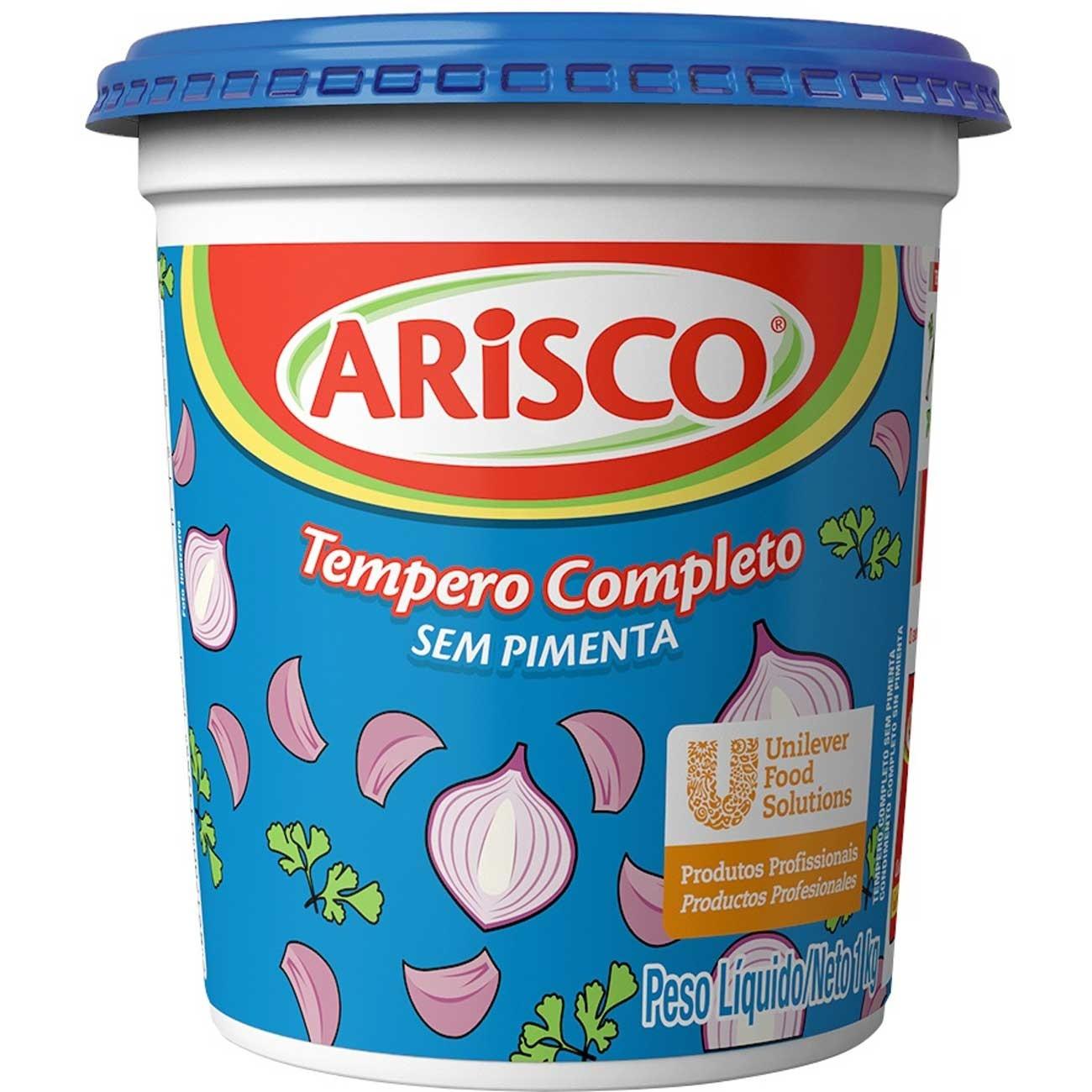 Tempero Arisco Completo Sem Pimenta 1kg | 1 unidades
