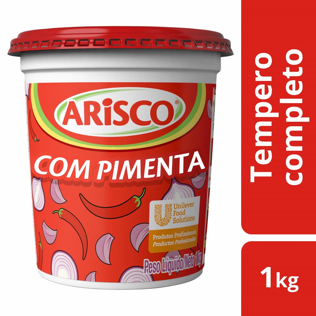 Tempero Arisco Completo Com Pimenta 1kg | 1 unidades