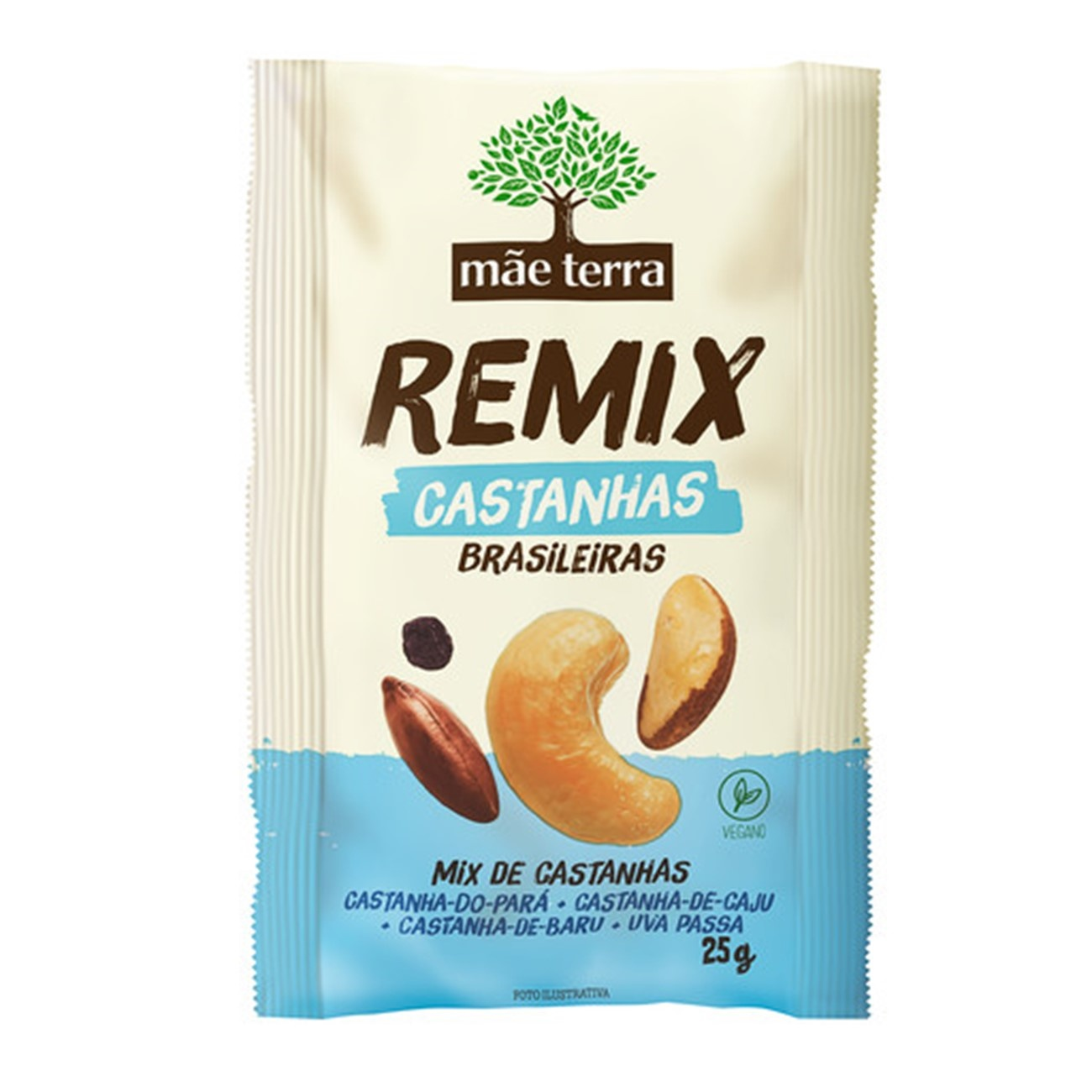 Remix M�e Terra Castanhas Brasileiras | 9 unidades
